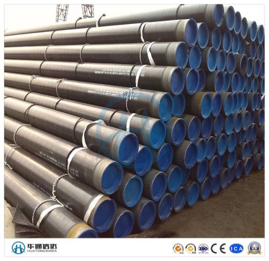 Electric Power Plant, Chemical Plant 3lpe 2fbe Anti Corrosion Pipe