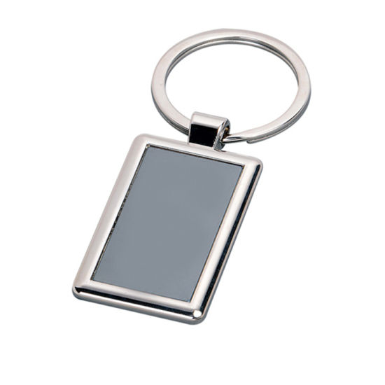 Custom Alloy Key Chain with Printing Decal Insert (Ele-K056) pictures & photos