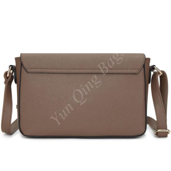 67b78c0d365 Fashion PU Woman Handbag Crossbody Messenger Bag with Front Laser Hole