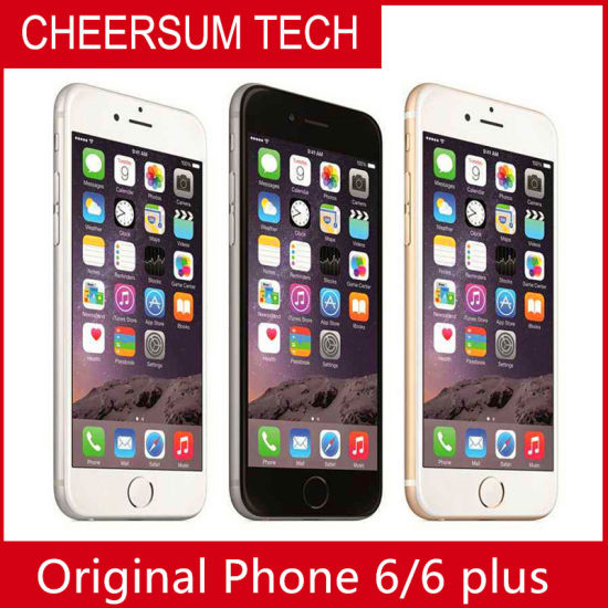 Wholesale Phone 6 Mobile Phone 16/64/128GB ROM Cell Phone Phone6