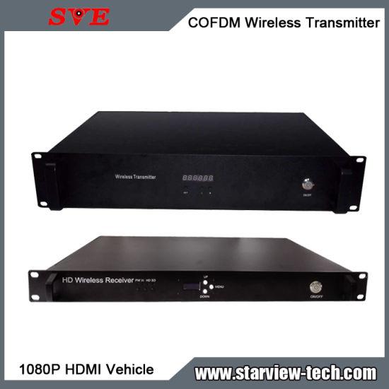 Portable HD Nlos Vehicle Cofdm HDMI/AV Wireless Video Transmitter