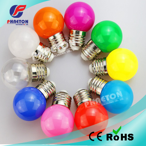 Color 1W 3W G45 LED Bulb, Holiday Christmas Light pictures & photos