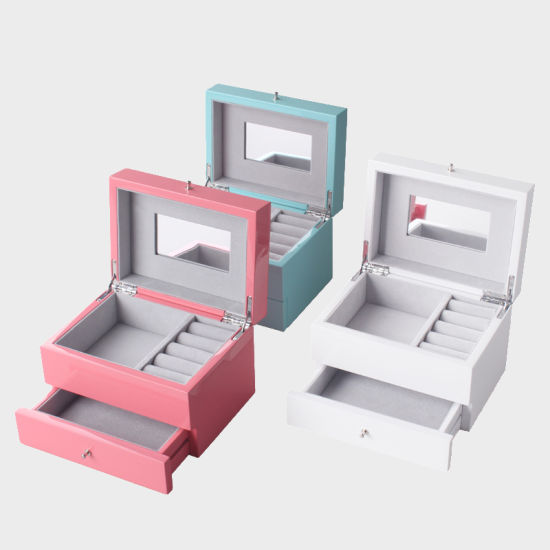 New Design Luxury/High Quality/Square Wooden/Paper/Plastic/Leather/Velvet Factory Jewelry Watch Cosmetic Perfume Gift Packaging Set Storage Box Wholesale.Drawer