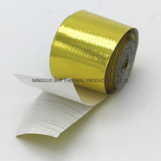 Thermal Shield High Temperature Resistant Gold Heat Reflective Tape