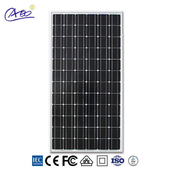 200W Cheap Price High Efficiency Monocrystalline Solar Panel Solar Cells pictures & photos