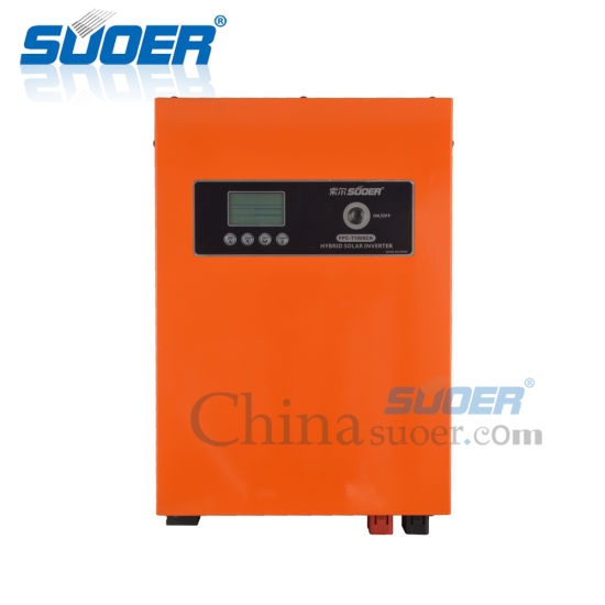 Suoer DC 12V to AC 230V 800W UPS Pure Sine Wave Solar Power Inverter with  30A PWM Controller (FPC-T1800CA)