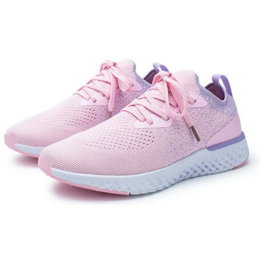 Cheap Wholesale Athletic Light Working Lace up Sport Shoes Women