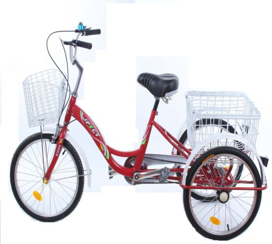 Manufacture Wholesale Three Wheel Bike Cargo Shopping Tricycle Cl-01
