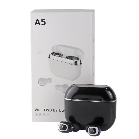 China True Wireless Earbuds Bluetooth 5 0 in-Ear Stereo