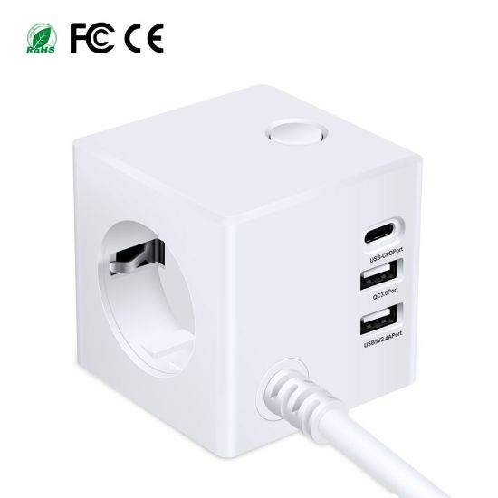 All in One Travel Plug Power Adaptar Charger Adaptor with USB Ports Charging