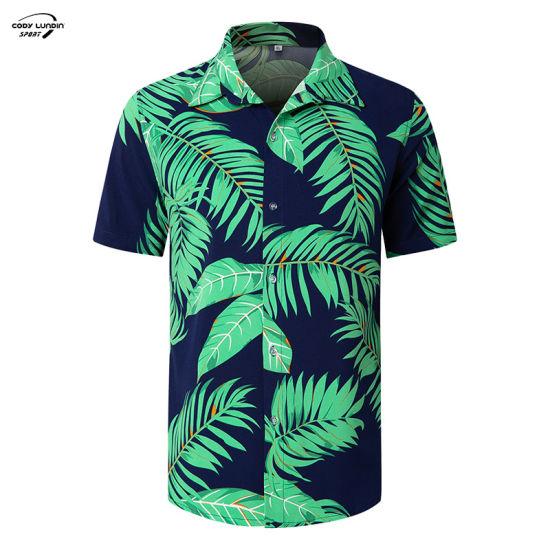 Cody Lundin Adult Men Organic Cotton Jersey Cut and Sew Round Neck Short Sleeve Circular Hem Wicking Casual Beach Soft Quick Dry Guy OEM Tshirt