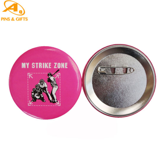 Factory Price Promotion Custom Printing Logo Unicef Sports Pin for Promotional Gifts Tin Button Badge