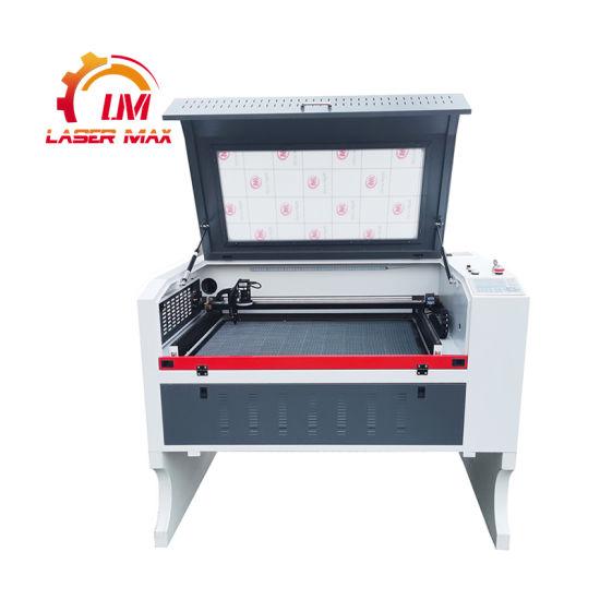 CO2 Laser Cutting Machine 6090 9060 100W 130W CNC Laser Cutter Machine with CCD Camera