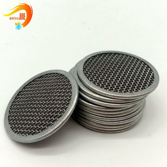 10 Micron Round Stainless Steel Screen Filter Mesh Disc