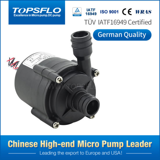 12V or 24V DC High Pressure Boost Pumps, Integrated Water Heater Pump