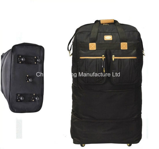 Distributor Travel Outdoor Lightweight Trolley Wheeled Duffle Bag Expandable Luggage
