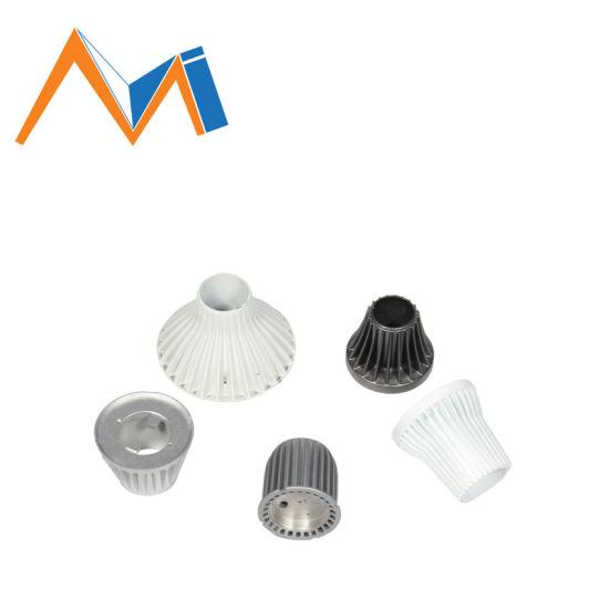 CNC Processing Aluminum Die Casting for LED Lamp Housing Accessories