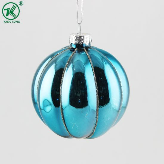Factory Fashionable Christmas Glass Ball Ornament Crafts