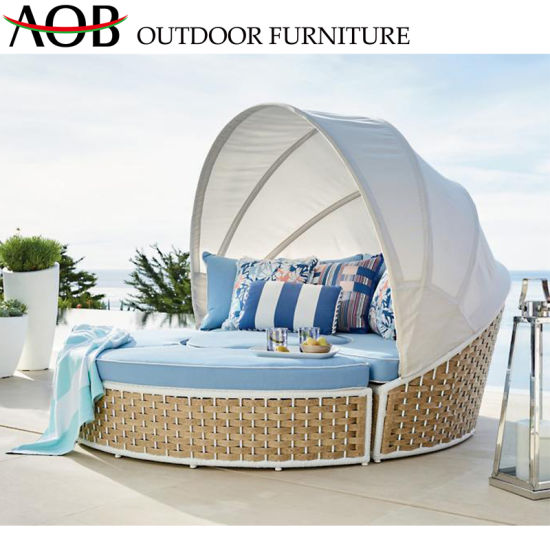 Peachy Modern Chinese Outdoor Hotel Villa Seaside Chaise Lounge Rattan Furniture Sofa Bed Sun Lounger Sunbed Gamerscity Chair Design For Home Gamerscityorg