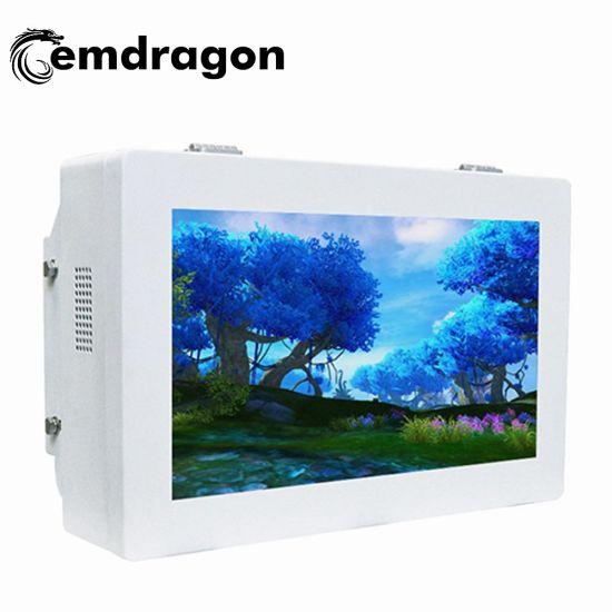Wall Mount Touch Screen Panel 32 Inch Outdoor Wall Mount Advertising Machine Cheap Network WiFi LCD Monitor Outdoor LCD Advertising Totem LED Digital Signage