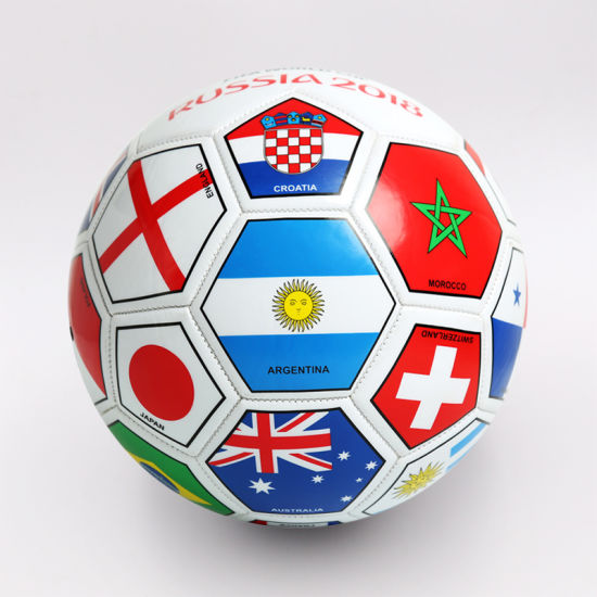 World Cup Country Flag Football Ball for Promotion pictures & photos