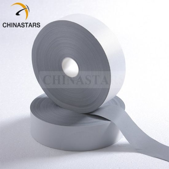 Cheapest Polyester Backing Reflective Fabric Material for Clothing