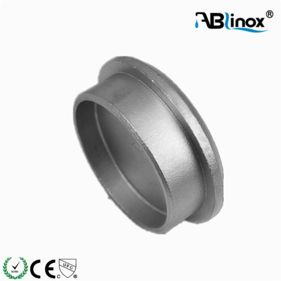 Stainless Steel Pipe Fittings End Cap Cover for Casting