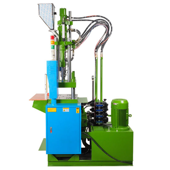 Plastic Product Making Vertical Injection Molding Machine for PVC Cable Connect