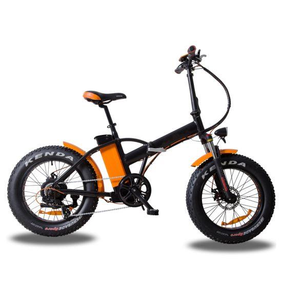 20'' Folding Electric Bicycle Fat Bike with Bafang Motor