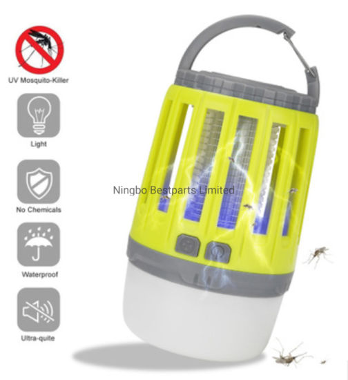 Mosquito Killer Camping lantern, 2 in 1, Rechargeable Tent Lamp, Multifunctional pictures & photos