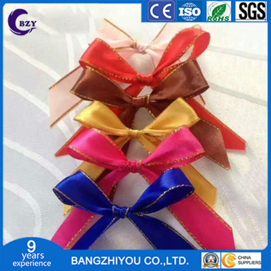 DIY Handmade Bow Gift Flowers Wedding Wedding Candy Packaging Ribbon Clothing Accessories pictures & photos
