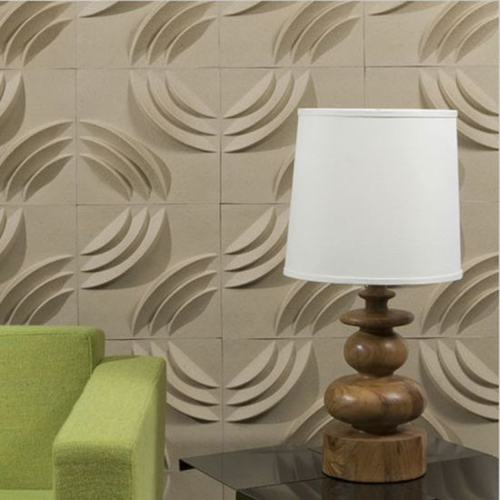 Guangzhou Modern Wall Art Decor 3D Wall Covering Panels for House Interior