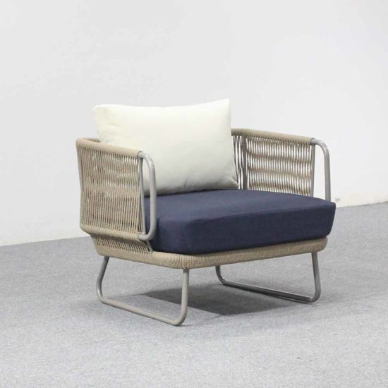 Superb New Design Tessa Rope Outdoor Relaxing Deep Seating Chair Caraccident5 Cool Chair Designs And Ideas Caraccident5Info