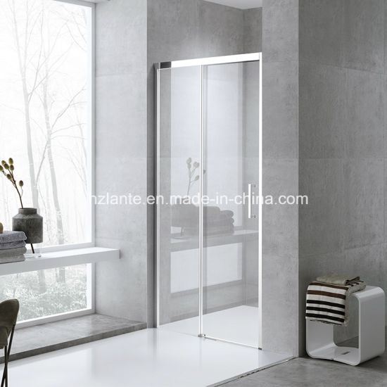 Italian Design High Quality Tempered Glass Sliding Shower Door (L5504-B) pictures & photos