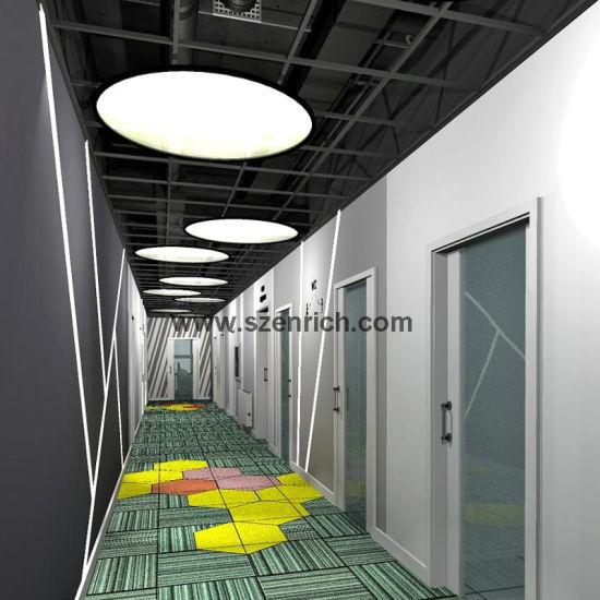 Round Shape Led Chandeliers Pendant Lights Modern Hanging Light For Office Home Restaurant
