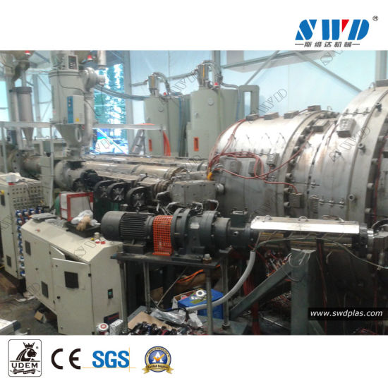 Stainless Steel 20-110mm Plastic Polyethylene HDPE Foamed Pipe Extrusion Line