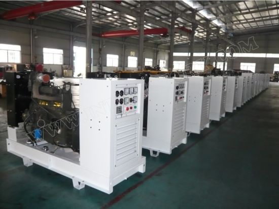 CE/Soncap/CIQ/ISO Approved 30kVA Super Silent Diesel Generator with Perkins Engine for Emergency Use pictures & photos