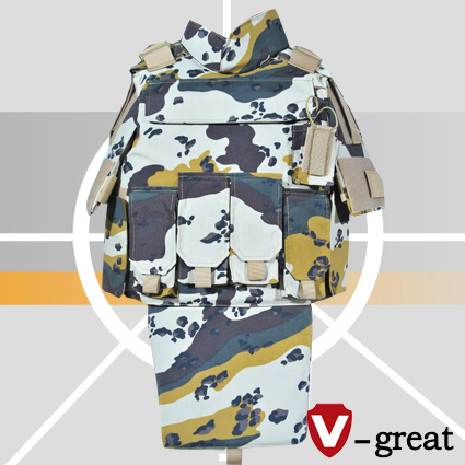 Six Color Desert Camo Bulletproof Jacket with Good Quality