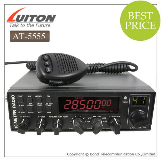 at-5555 Am FM USB Lsb Pw Cw 10 Meter CB Radio