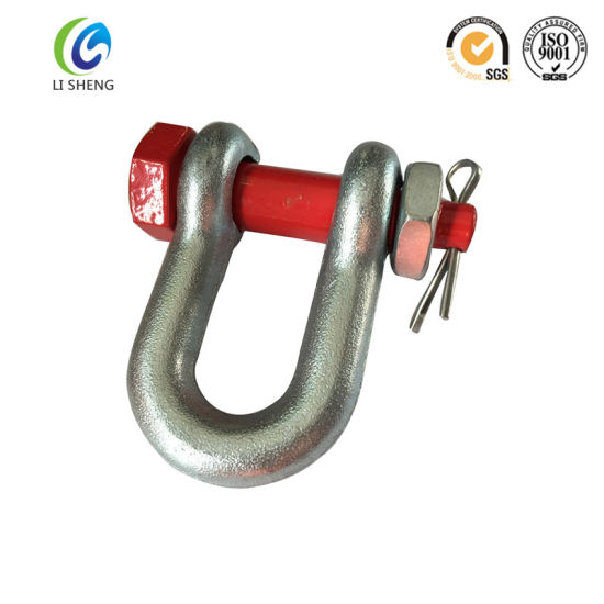 Us Type G2150 Bolts Type D Shackle pictures & photos