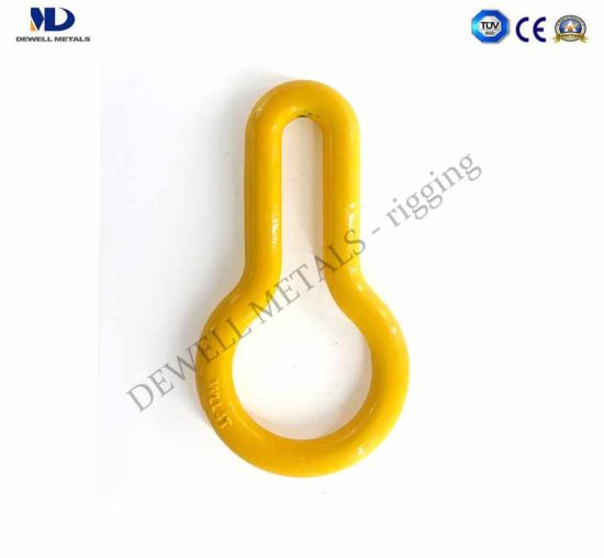 Yellow Painted Alloy Forged Ring pictures & photos