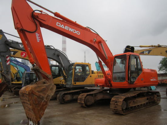 China Supplier of Used Daewoo 220-5 Excavator for Sale - China Used