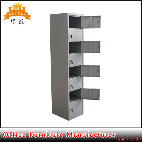 8 Door Grey Kd Fruniture Storage Cabinet Metal Locker pictures & photos