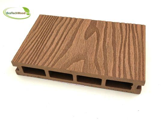3D Wood Grain WPC Wood Plastic Composite Decking