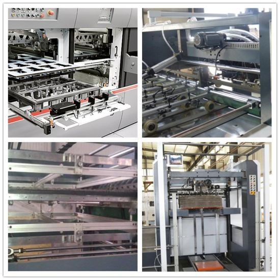 China Carton Box Semi Automatic Platen Die Cutting Machine