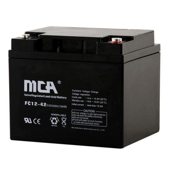 Wholesale Gel Solar AGM VRLA UPS Battery 12V42ah