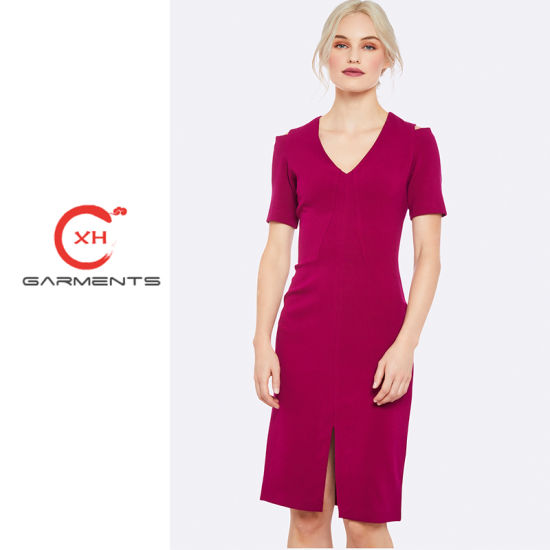 0d8b54fa872 China Xh Garments Focus on Quality Lady Dress - China Lady Dress ...