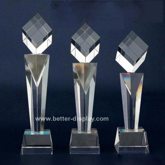 Custom Acrylic Crystal Champions League Trophy (BTR-I7023)