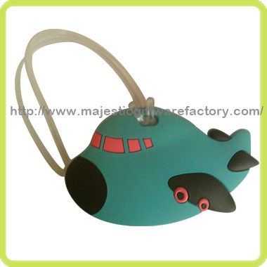 Cartoon Soft PVC Luggage Tag pictures & photos