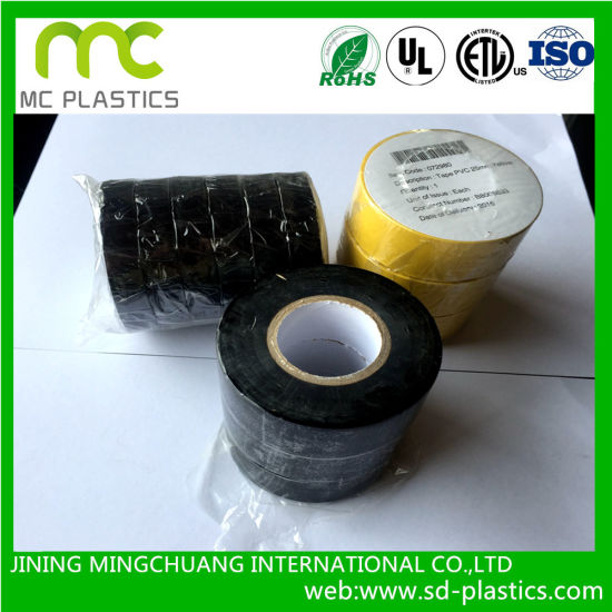 PVC Electrical /Insulation Flame Retardant Tape for Wire Cable /Insulative Bangaging, Fixation and Sheath Protection